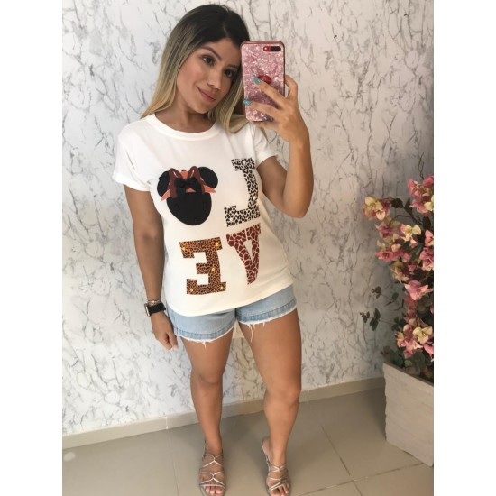 T-SHIRTS LOVE MINNIE